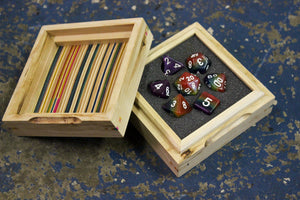 Limited Edition Recycled Skateboard Dice Chamber (ready to ship!)