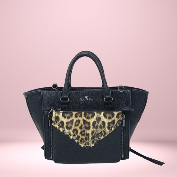 Charlotte Display Belt Bag - Leopard