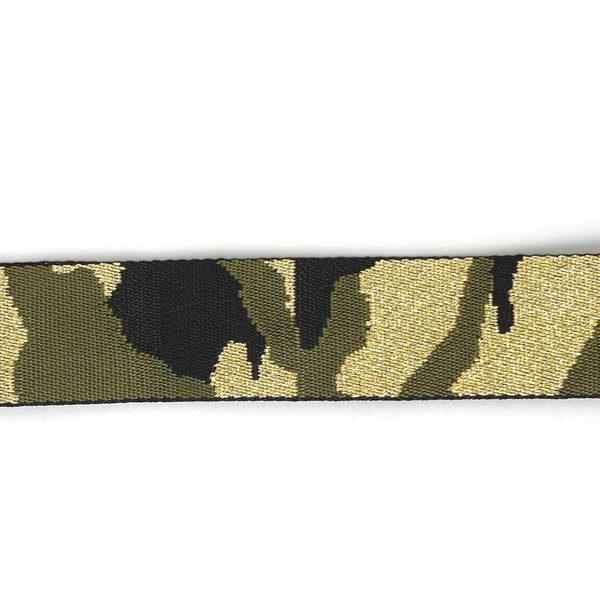 Bag Strap - Camo - Army Green/Gold