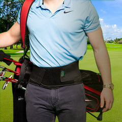 golf swing back pain