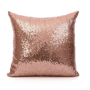 Luxe Glitz and Glam Sequin Pillow Cover