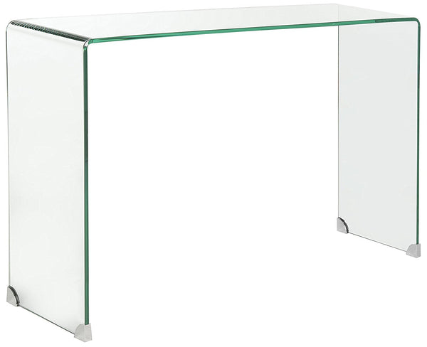 Luxe Home Clear Console Table
