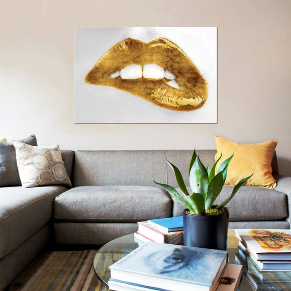 Luxe Luscious Gold Canvas Painting