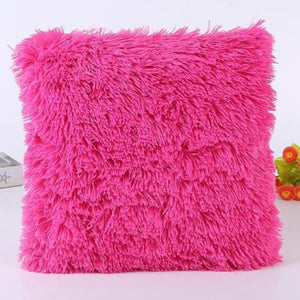 Luxe Faux Fur Plush Pillow Cover