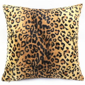 Luxe Wild Plush Pillow Covers