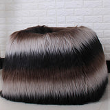 Luxe Faux Fur Lounge Bean Bag Cover (Without Filling)
