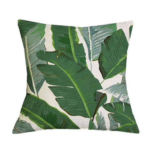 Luxe Tropical Pillow Covers