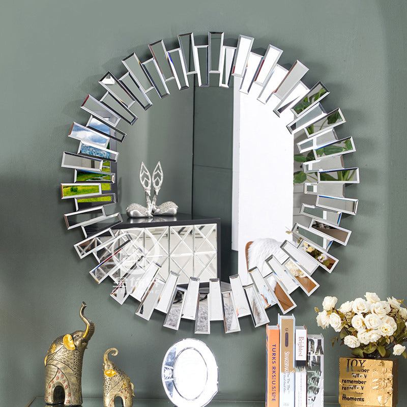 Luxe Round Wall Mirror