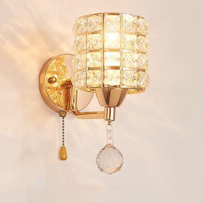 Luxe Crystal Wall Sconce