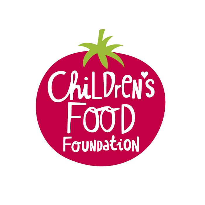 Children's food foundation logo about healthy eating