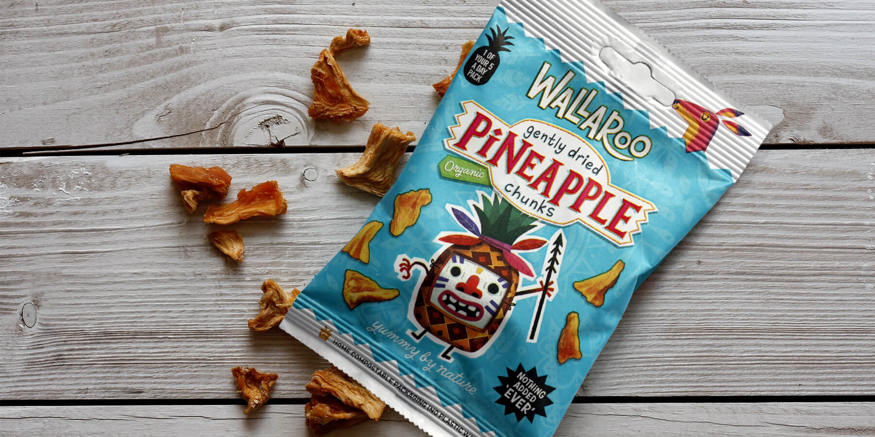Wallaroo organic pineapple chunks are delicious