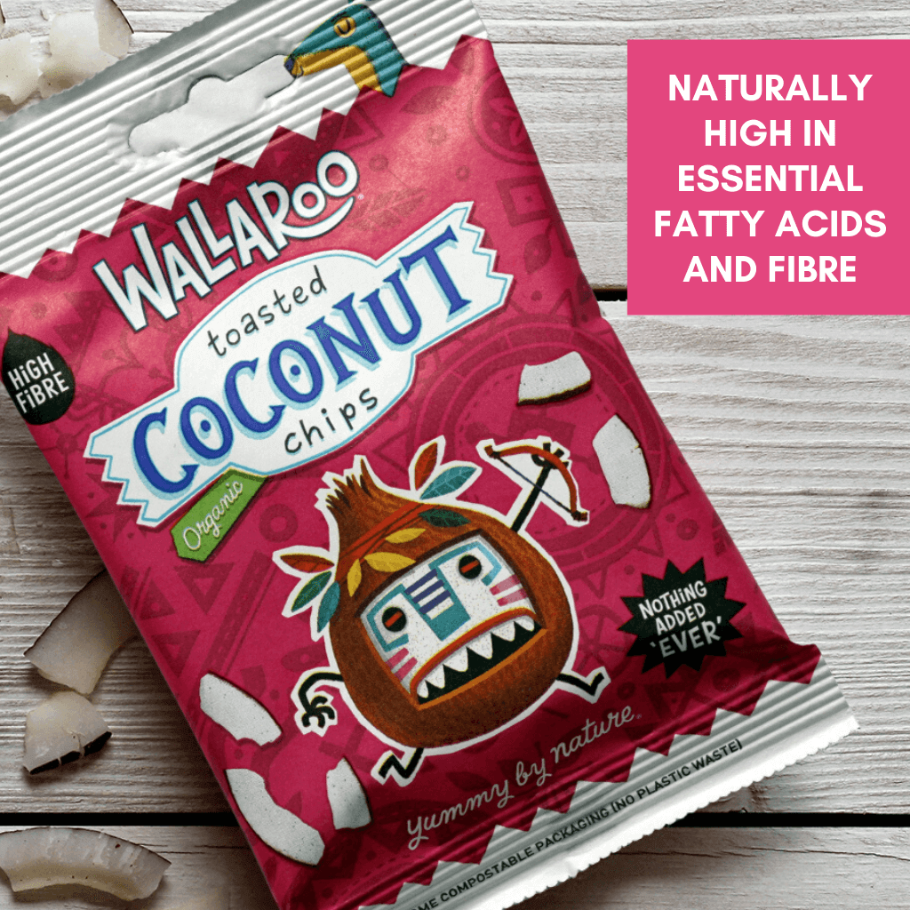 coconut chips high in fatty acids