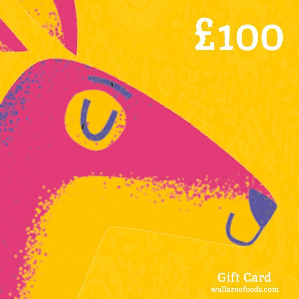 Wallaroo Dried Fruit Gift Card 100