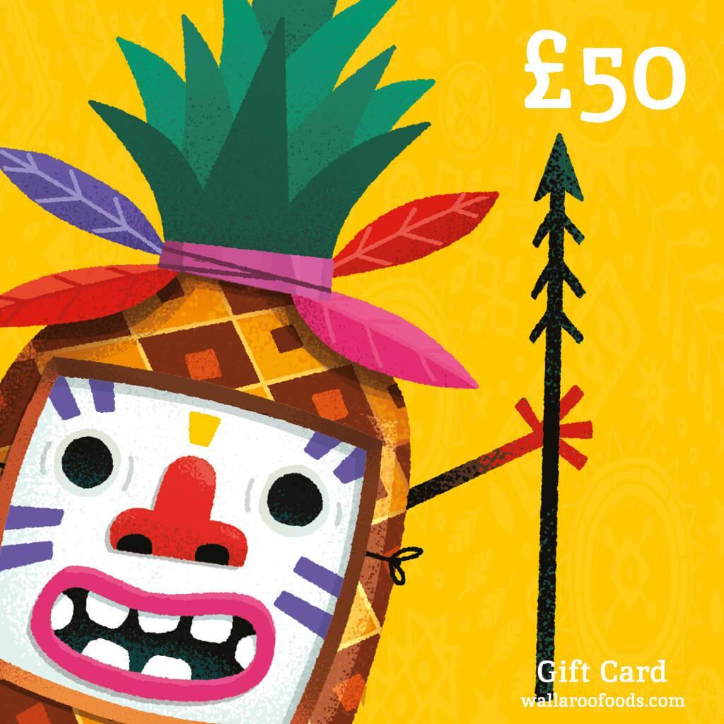Wallaroo Dried Fruit Gift Card 50