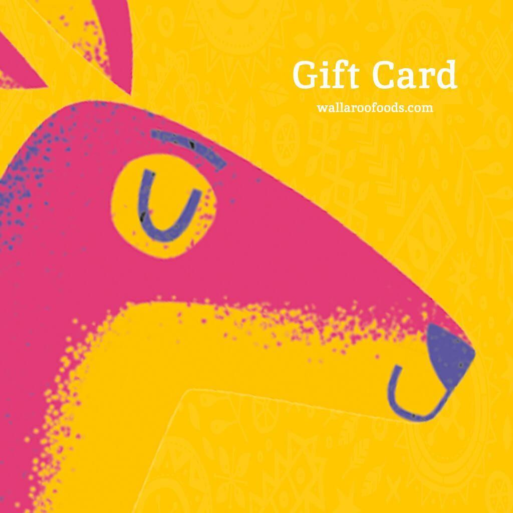 Wallaroo Dried Fruit Gift Card