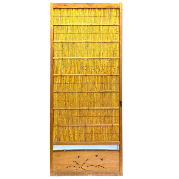Yoshido Summer Door | Japanese Cedar Wooden Door | Japanese Architectural Decor