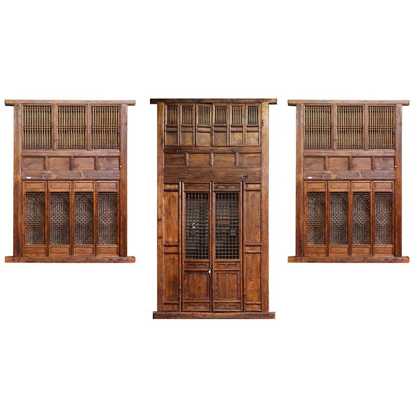 Wooden 19th Century Chinese House facade | Architectural Decor