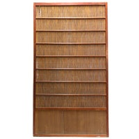 Sugi Yoshido Doors | Japanese Cedar and Bamboo Wooden Doors for Summer | Architectural Decor