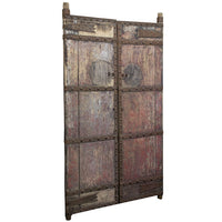 Heavy Wooden 19th Century Chinese Gates | Architectural Decor
