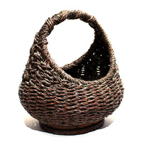 heavy rope bamboo basket