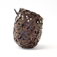 Japanese Bamboo Ikebana Flower Wall Basket