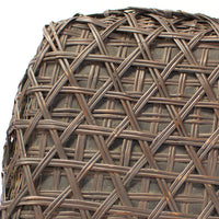 Japanese Bamboo Charcoal Basket