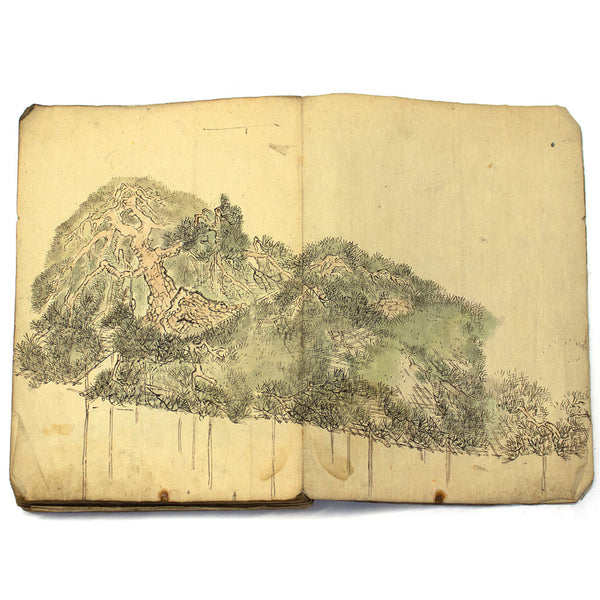 Landscape Sketch Book of Artist - One of a Kind