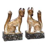 Pair of Inari Figures