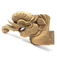 Large Single Baku Carving