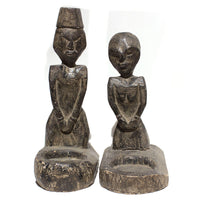 Pair of Wood Carvings