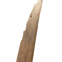 Large Wooden Rudder