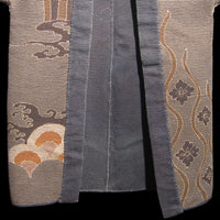 Hanten with Lucky Symbols  Japanese Antique Kimono