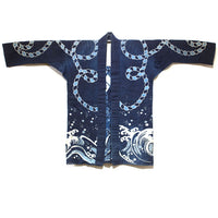 Festival Coat for Sailor or Fisherman with Maritime Motif Japanese Art