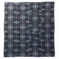 Indigo Kasuri Futonji with Butterfly Pattern
