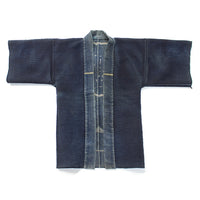Antique Japanese Sashiko Fireman's Coat