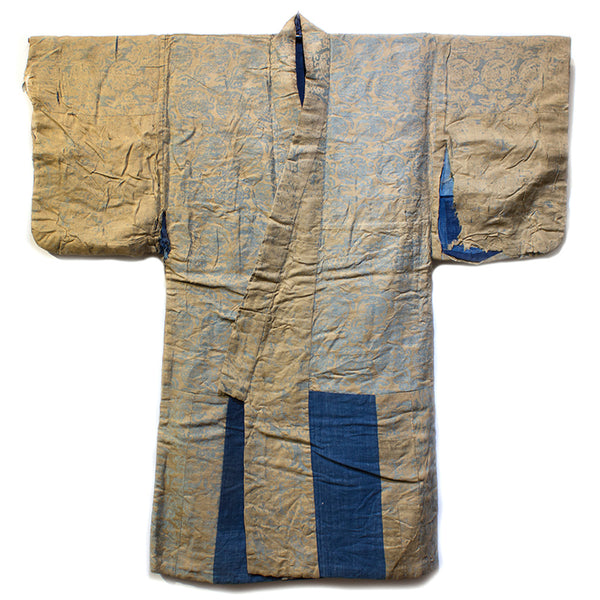 Intricate Theater  Japanese Antique Kimono