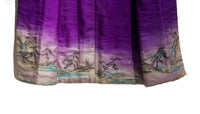 opened kimono from the back showing full nature scene