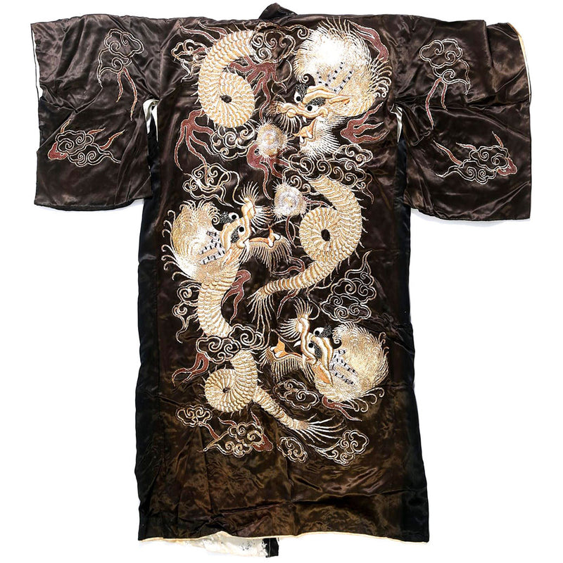 products/K-0509_Japanese_Couched_Embroidered_Black_Silk_Dragon_Kimono_20th_Century_01.jpg