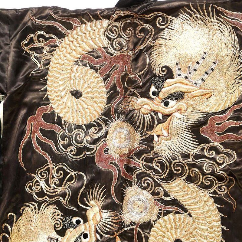 products/K-0509_Japanese_Couched_Embroidered_Black_Silk_Dragon_Kimono_20th_Century_03.jpg