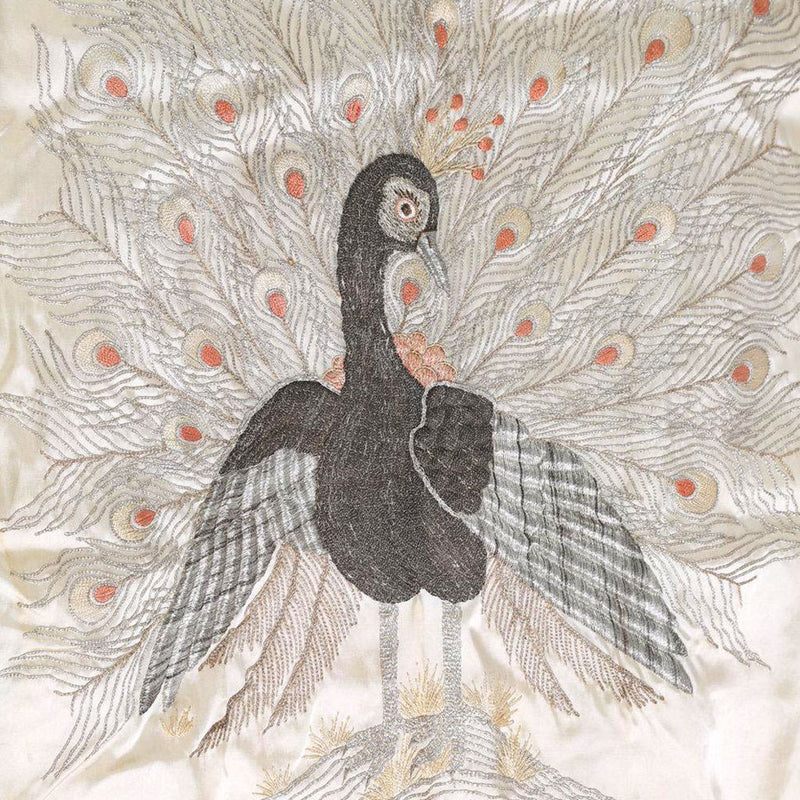 products/K-0510_Japanese_Embroidered_Ivory_Silk_Peacock_Kimono_and_a_Japanese_Black_Silk_02.jpg