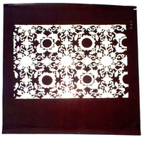 Japanese Motif Lacquered Paper Stencil Pattern