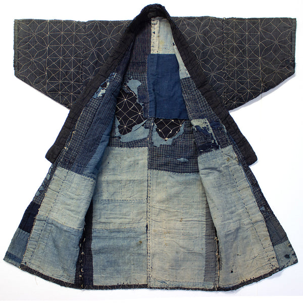 Fisherman's Sashiko and Boro Coat