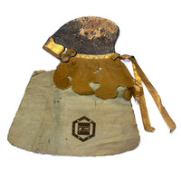 Samurai fireman's Leather Hat