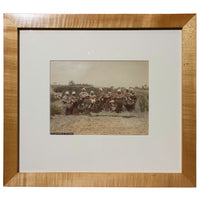 Gathering of Tea Leaves - Framed