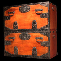 Hangai - Two Section Ships Clothing Chest.