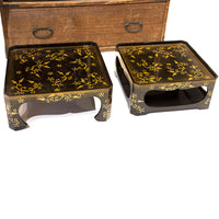 Lacquered Tray Box