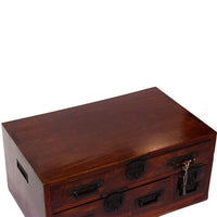 Mae Bako Ships Chest Japanese Antique Furniture Writing Box Storage