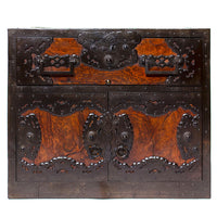 Funa Dansu Japanese Antique Furniture Iron Hardware