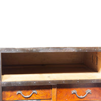 Funa Dansu Chest Storage Japanese Antique Furniture Iron Hardware