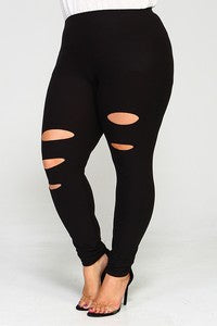 TIE ME UP High Waist Denim Jeans in Black